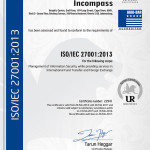 Money Transfers with an ISO 27001 certified company